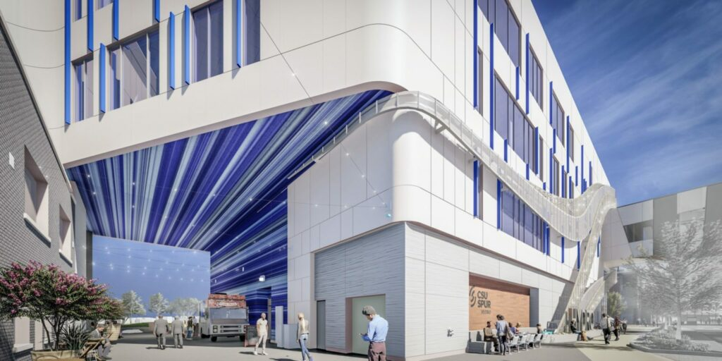 Rendering of the Hydro alley.