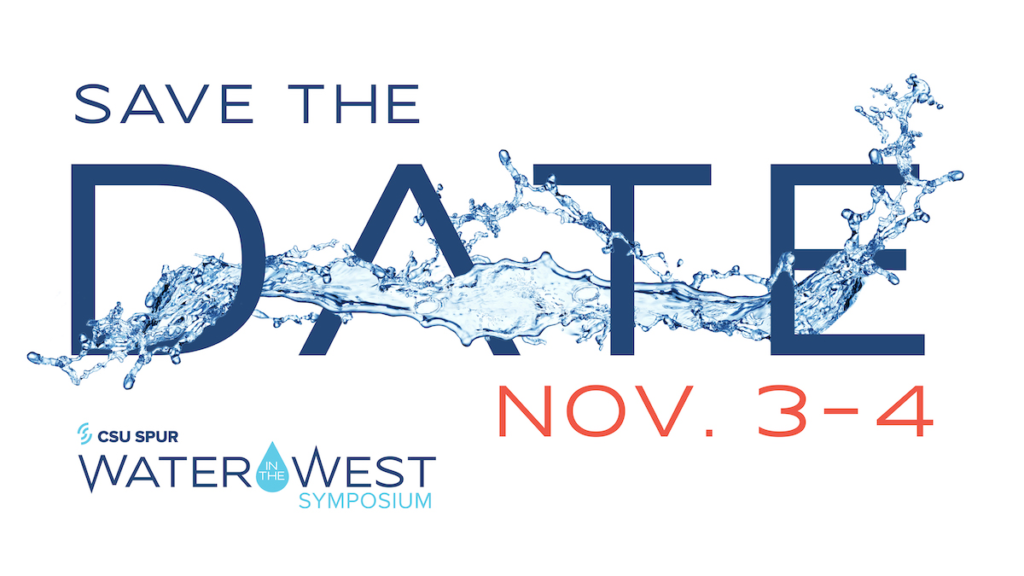 Water in the West save the date graphic